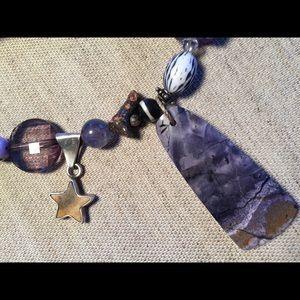 """Jewelry - Jeb Handmade """"Lavender Skies & Surprise"""" Necklace"""